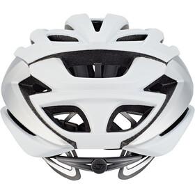 Giro Syntax Kask rowerowy, srebrny/biały